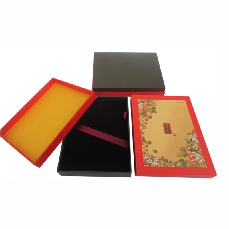 Rigid Cardboard Clothing Gift Boxes PMS CMYK Full Color Offset Printing
