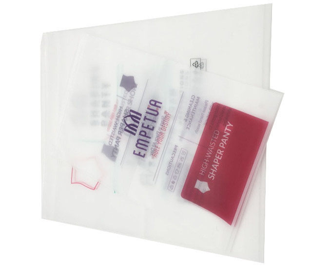 Panton Plastic Ziplock Apparel Packaging Bags With CE SGS Certification